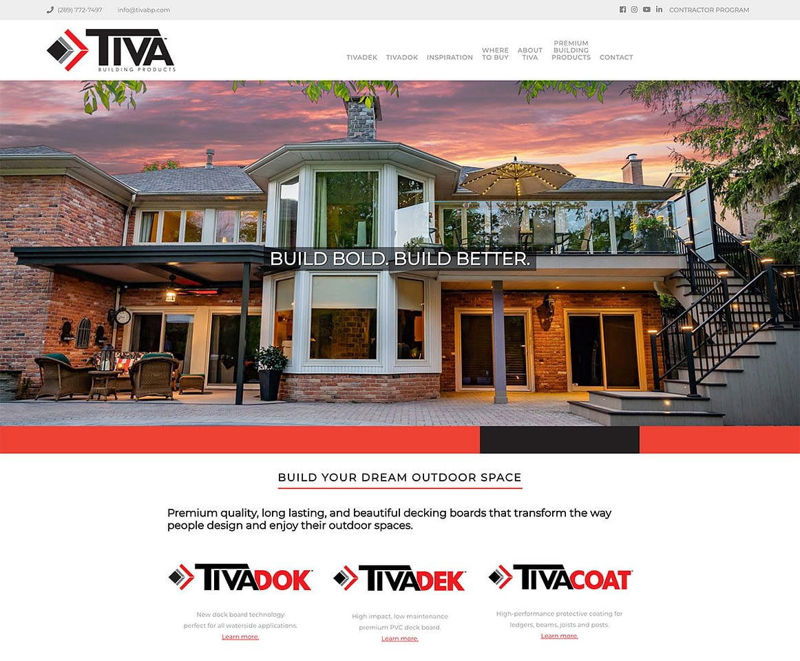 Tiva Building Products Brand Style