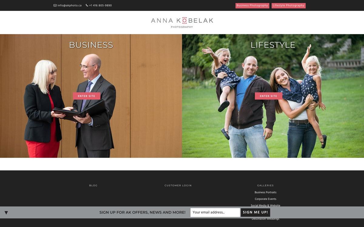 Ak PHoto Website Photography