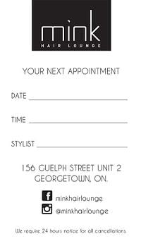 Mink Hair Lounge Graphic-Design-Georgetown