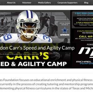 Carr Cares Web site