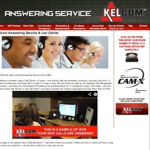 Kelcom Call Center Website