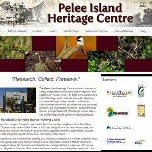 Pelee Island Heritage Centre Website