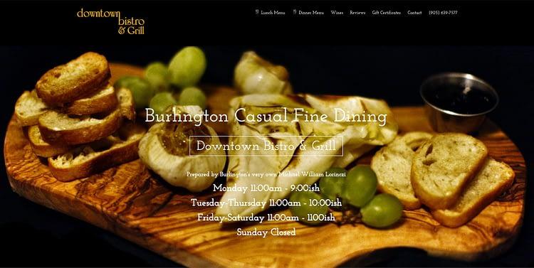 Downtown Bistro Burlington Restaurant Website Downtown Bistro Burlington Restaurant Website Mobile Friendly Downtown Bistro Burlington Restaurant Website
