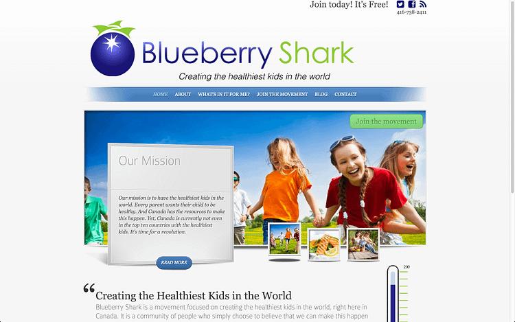blueberry shark website