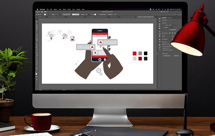 Graphic Design Blog Brand Style
