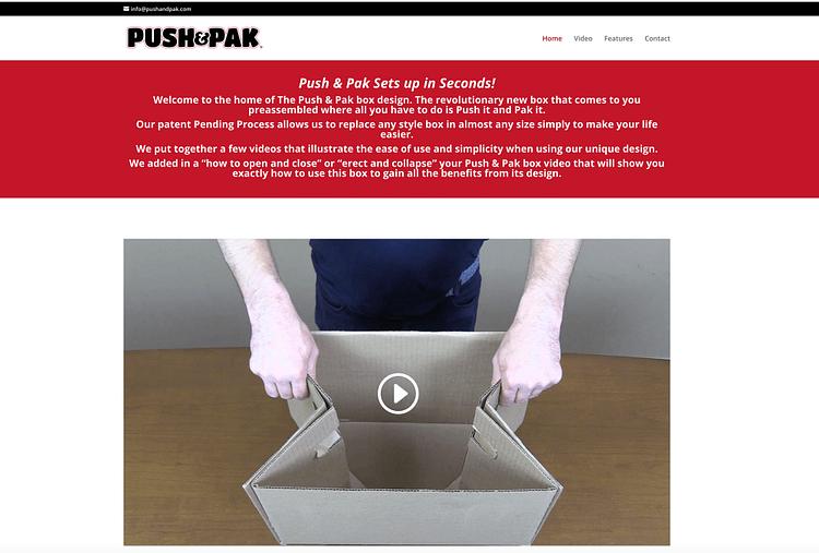 digital video marketing|push and pak||push and pa|
