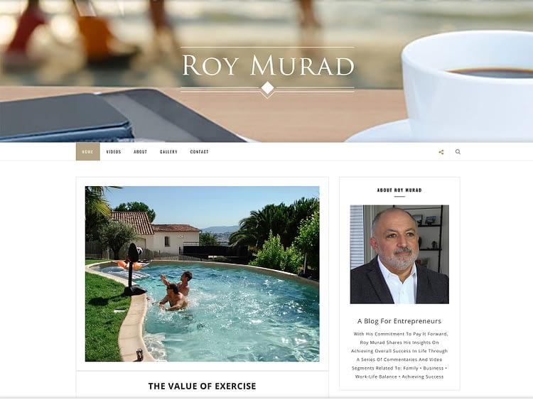 Roy Murad Entrepreneur Blog