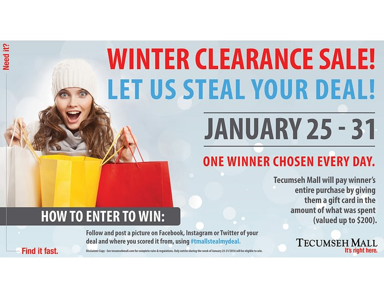 Mall-Marketing-Tecumseh-Mall-Graphic-Design-Winter-Sale