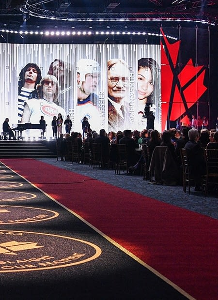 Canada's Walk of Fame thumbnail showing the stage at the 2019 awards show