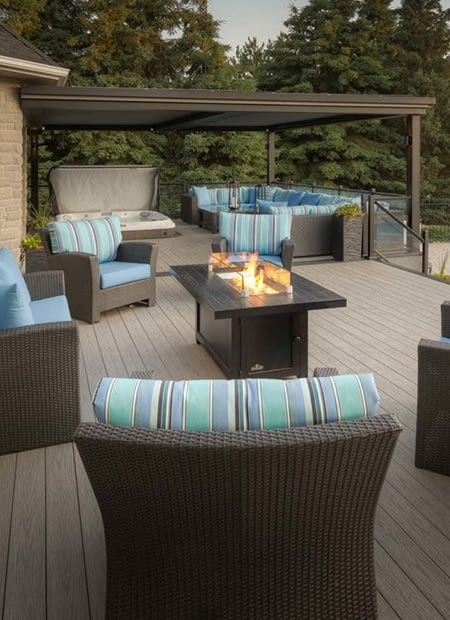 TIVA Building Products thumbnail showing a backyard deck covered in TIVAdek